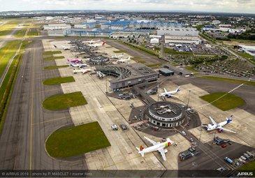 Airbus Buildings Aerial View 086