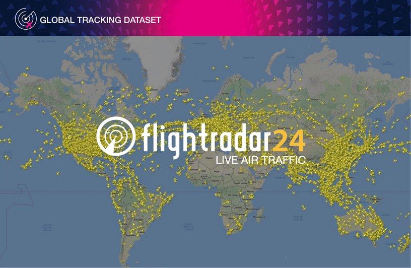 Global Tracking Data Set - Flight Radar 24