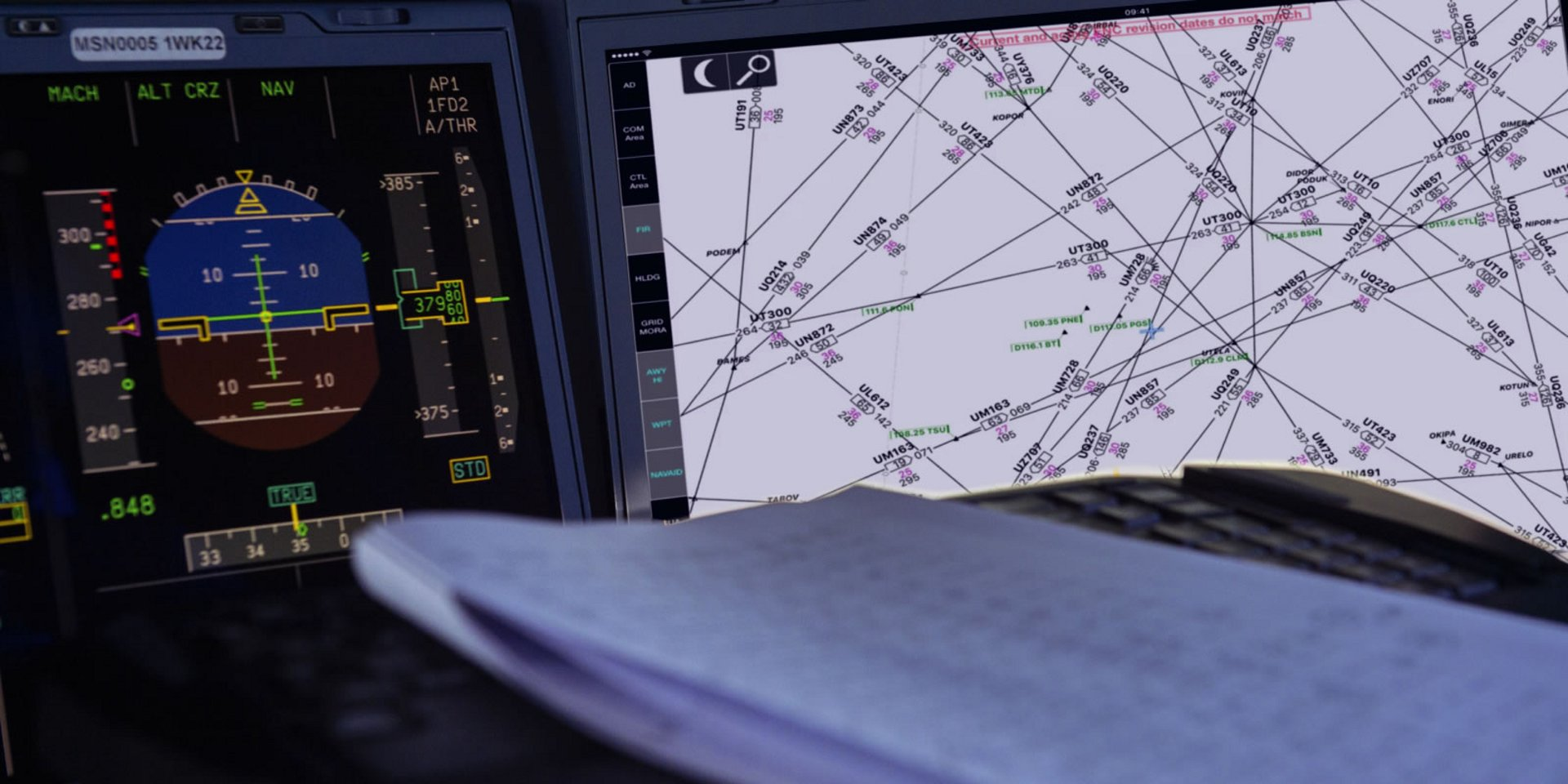 Charts+ is a ready-to-use set of aeronautical charts (IFR terminal and enroute) based on information published by national Aeronautical Information Services.