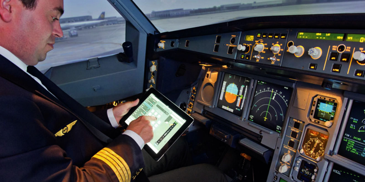 NAVBLUE Electronic Flight Bag solution provides a full suite of ground and on-board software applications and services.