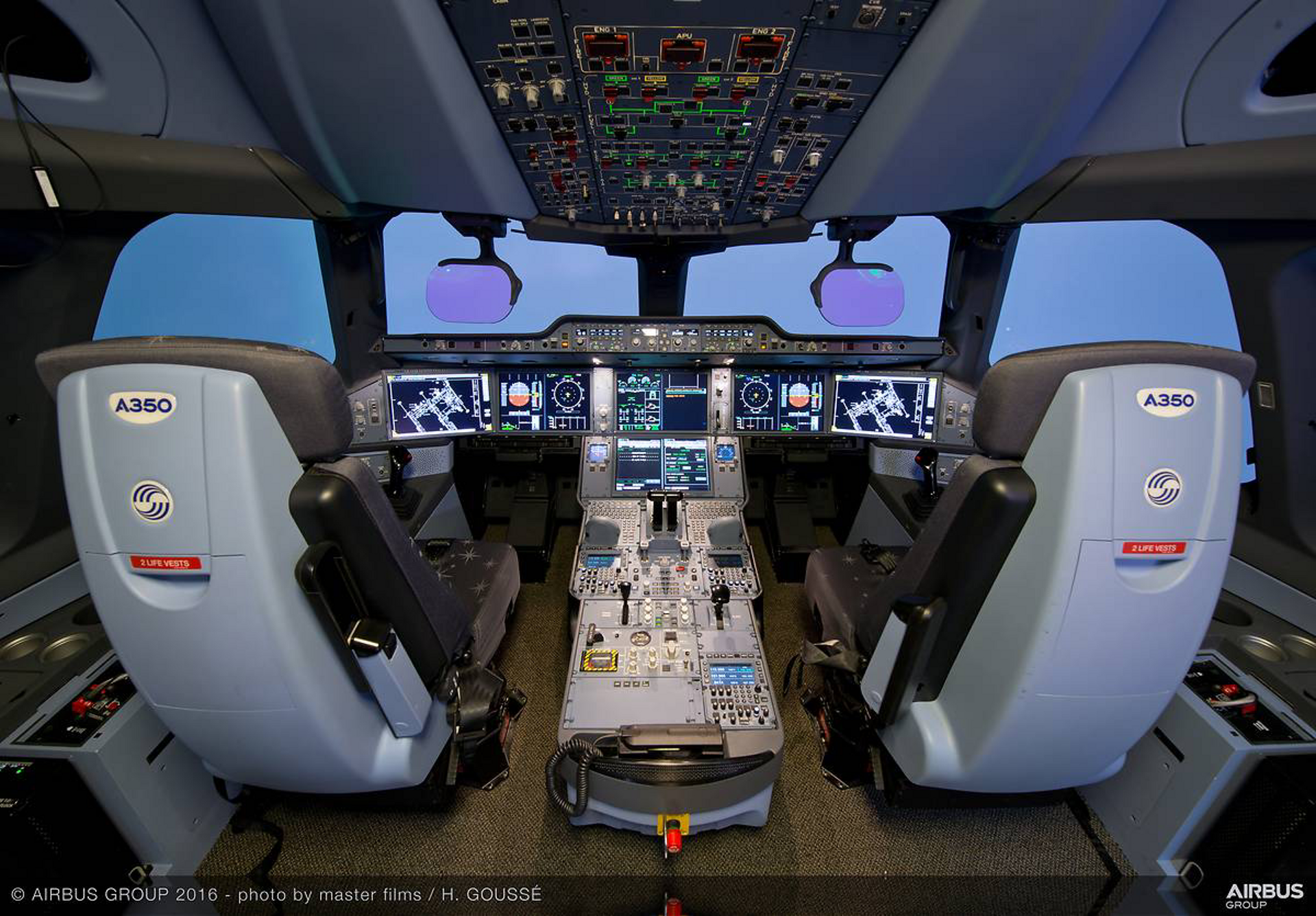 Dry Full Flight Simulator Session