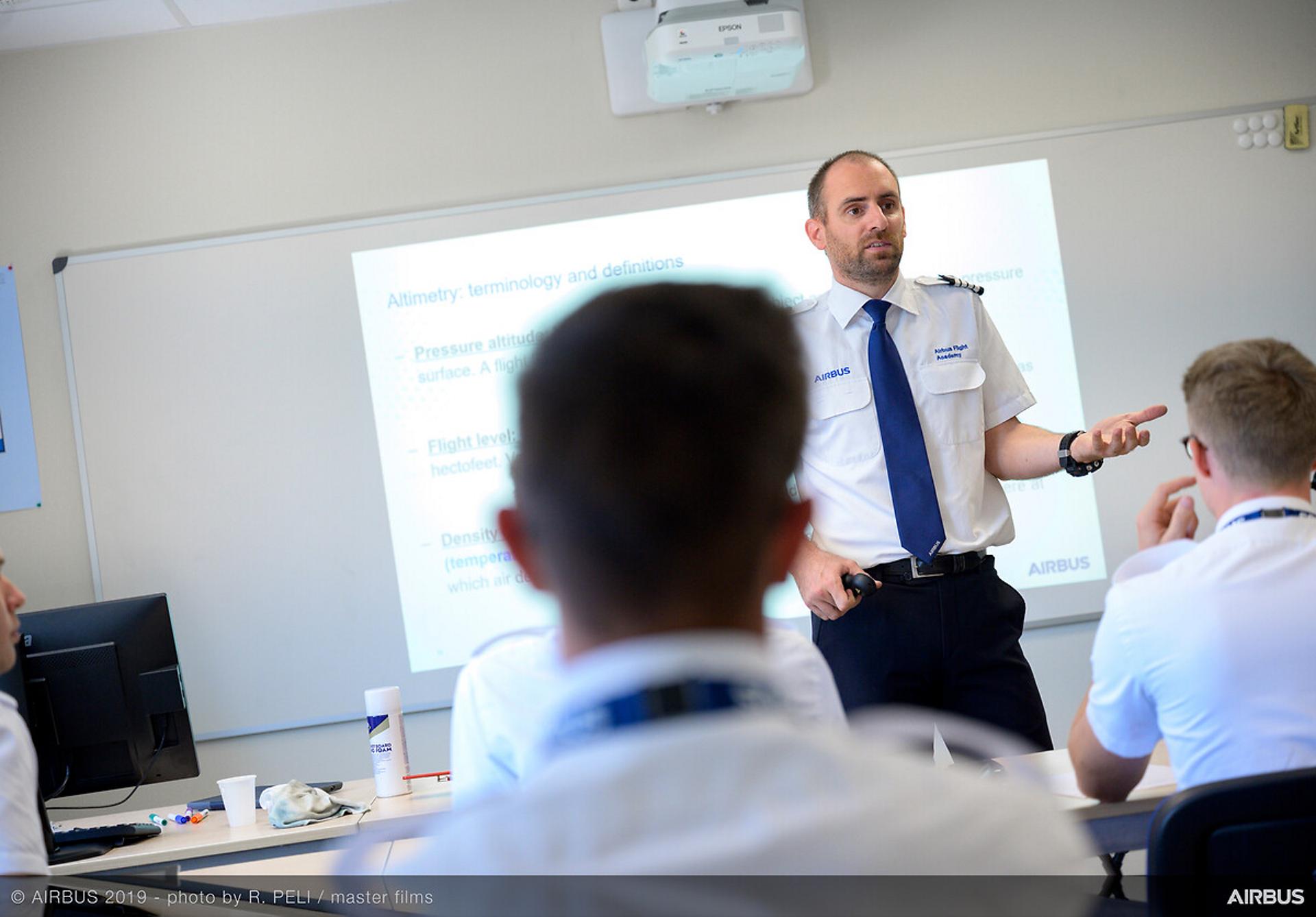 Airbus Flight Academy Instructor