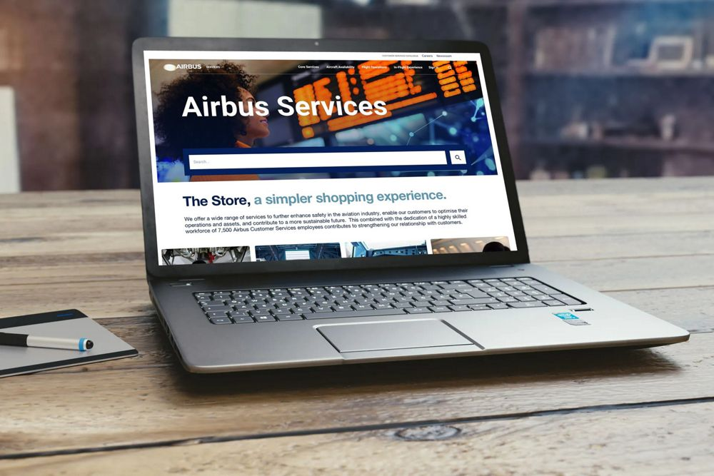 Discover Airbus Services Store