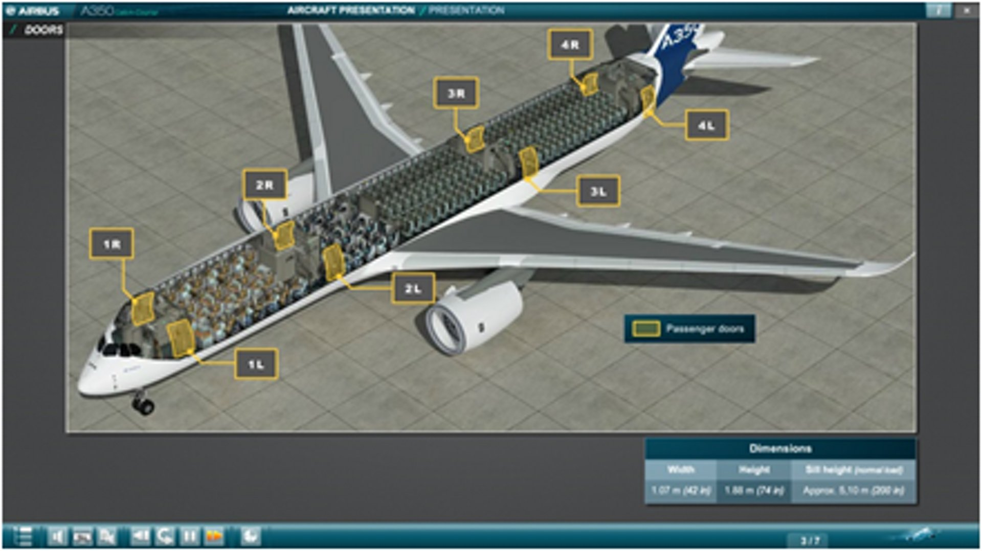 Visual for Cabin crew training courses, digital trainings and turnkey solutions