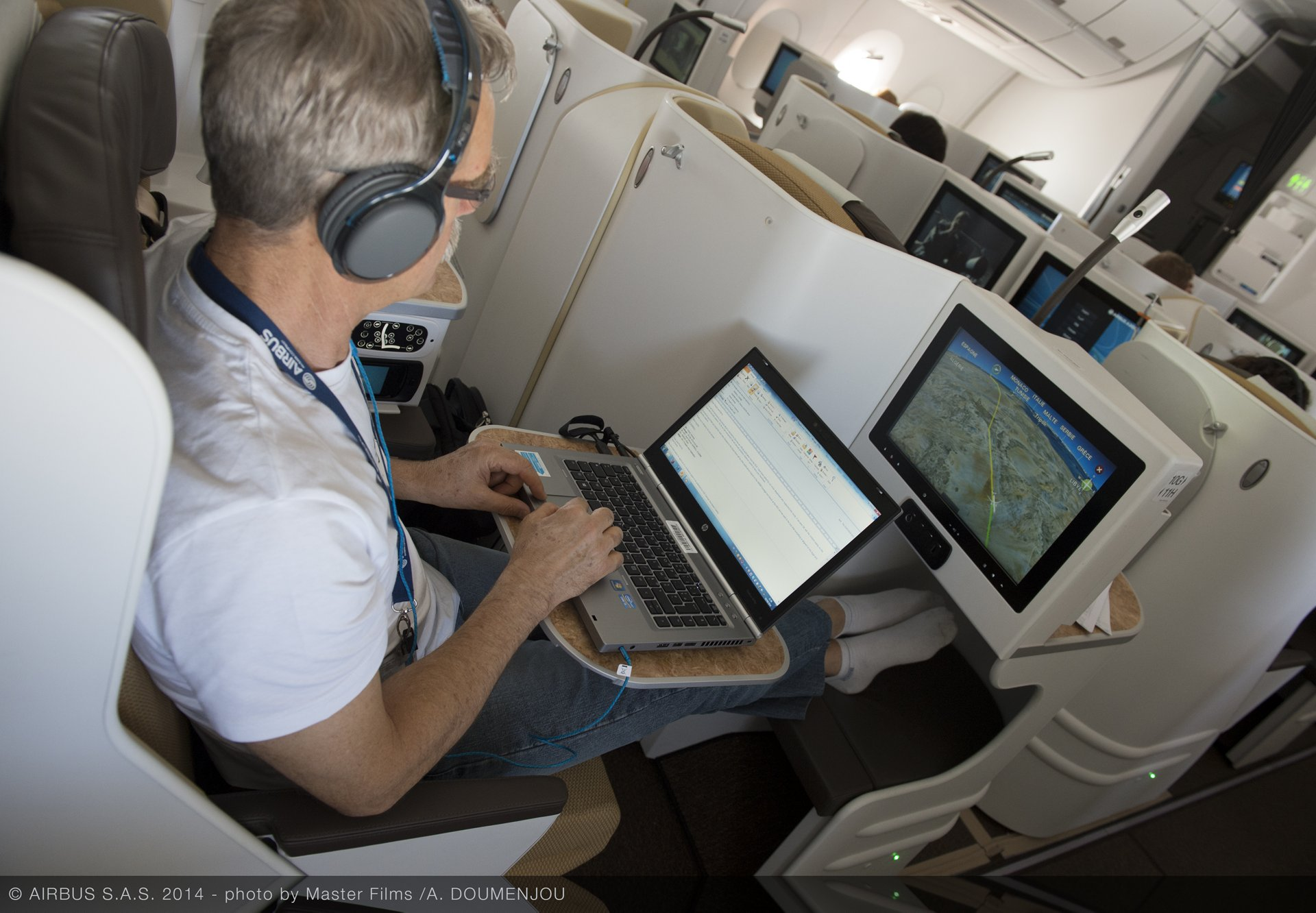 Airbus embodiment and repair is the right organisation to organise your retrofit for more on-board connectivity in a timely manner and end-to-end approach.