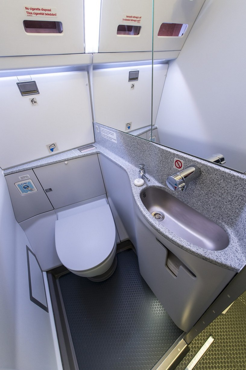 Angled-Wall Lavatory for A330/340 Family