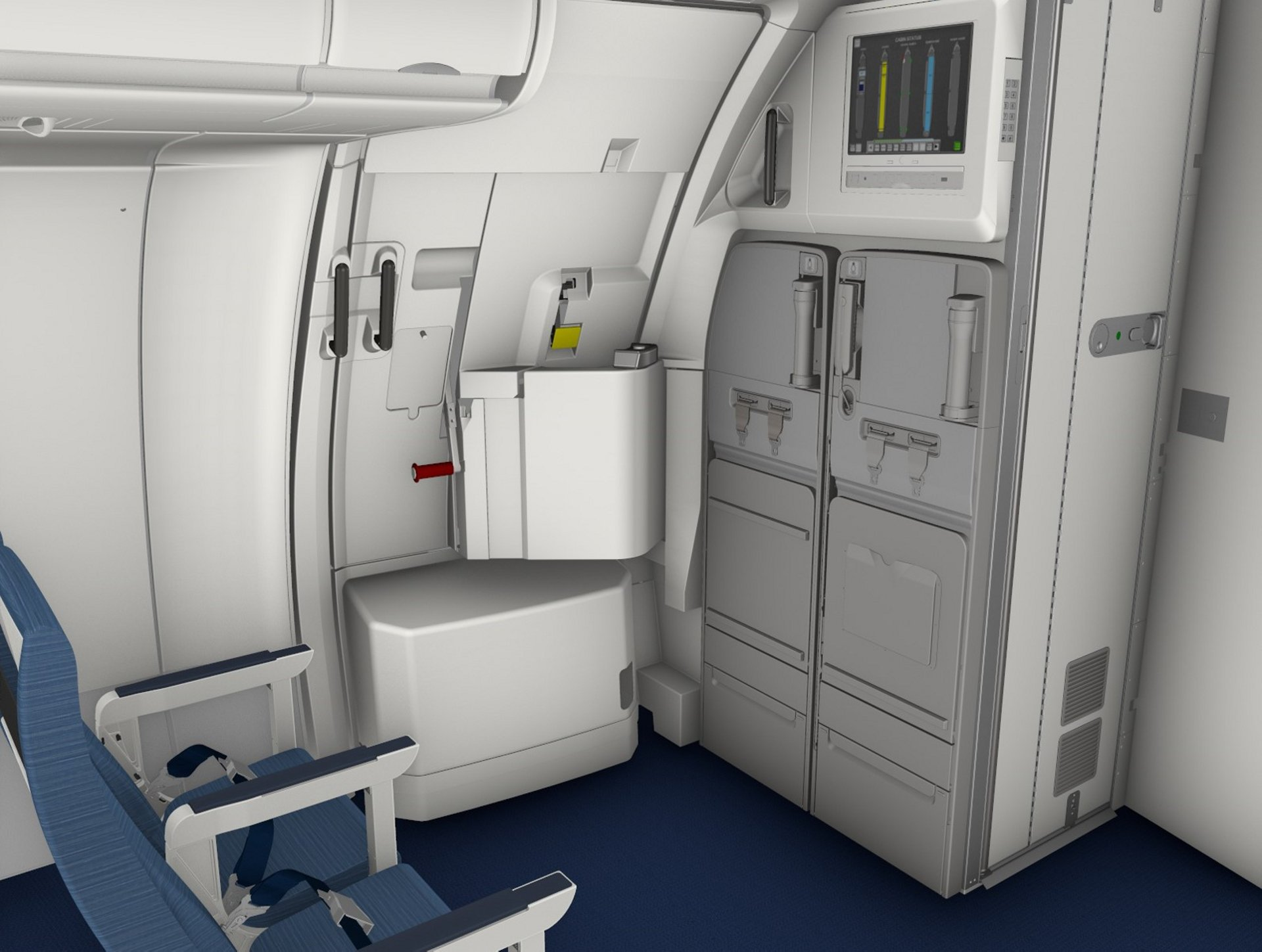 A320 FWD Monument Integrated CAS (MiCAS)