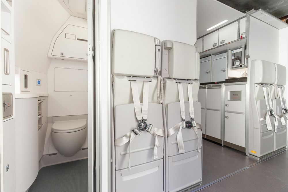 Ice Rear Galley & Lavatory