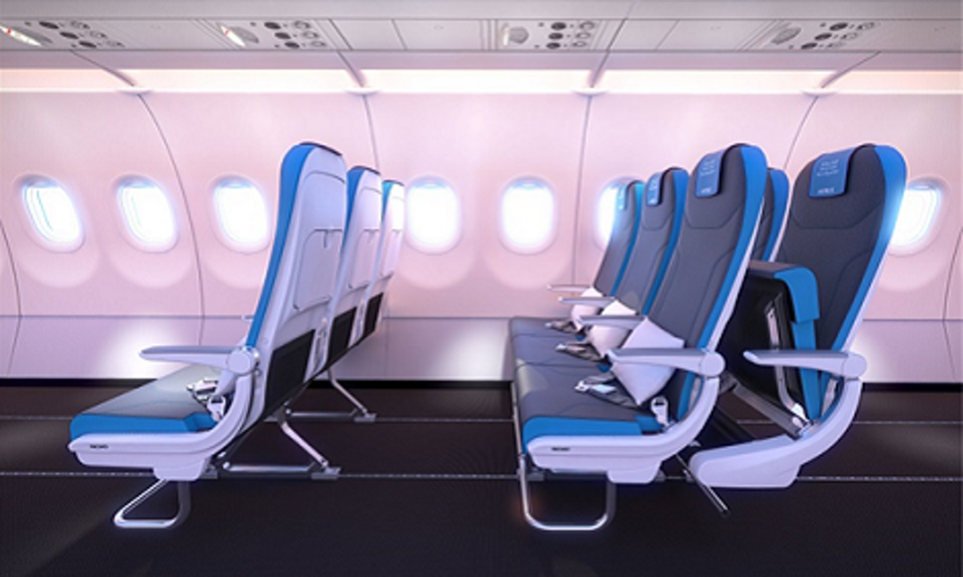 85% of flights have available seats. That is why Airbus offers the A320 flexible cabin from 174 to 180 pax.