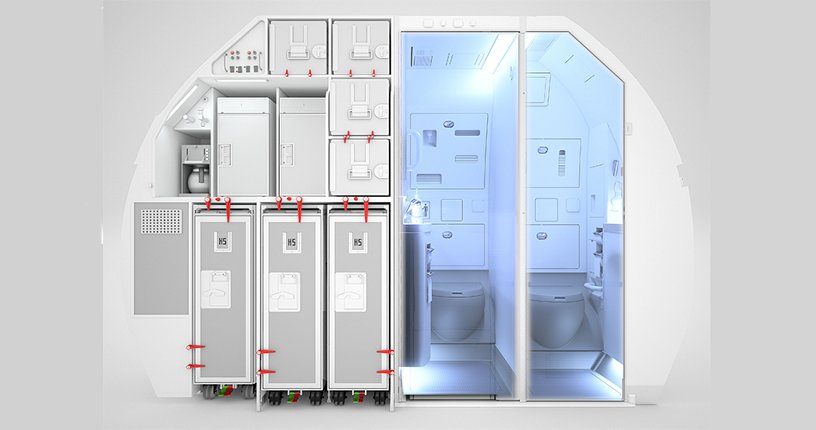 Space-Flex new configuration for A320
