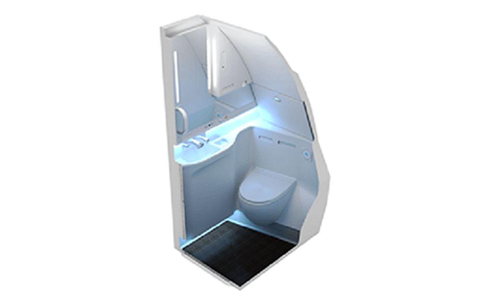 Enhanced A330/A340 lavatory with Smart-Lav
