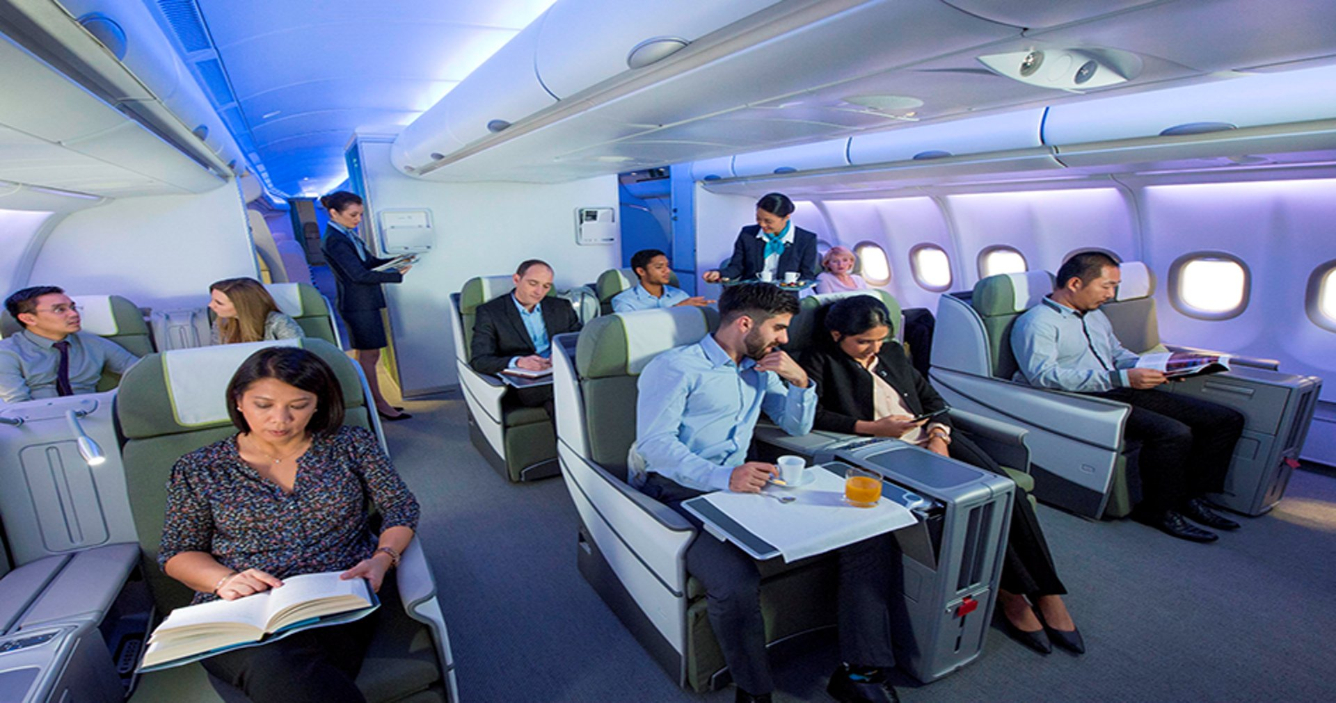 A stand-alone system that enhances prevention onboard for both your passengers and crew members from A320 Family to A380.