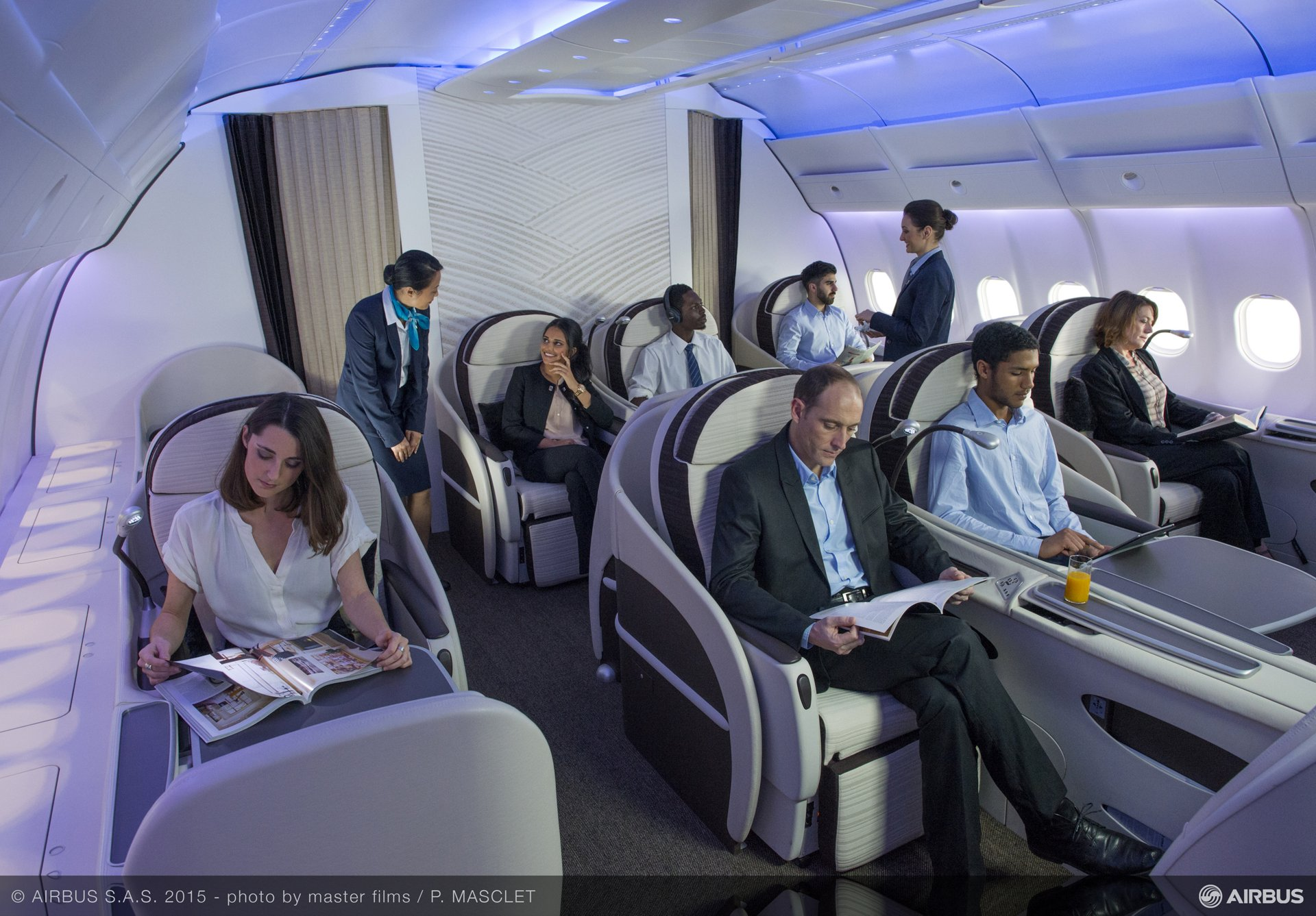 For specific cabin upgrade requiring new monuments, Airbus Services partners with its subsidiary Airbus Interiors Services (AIS) offers packages of tailored equipment.
