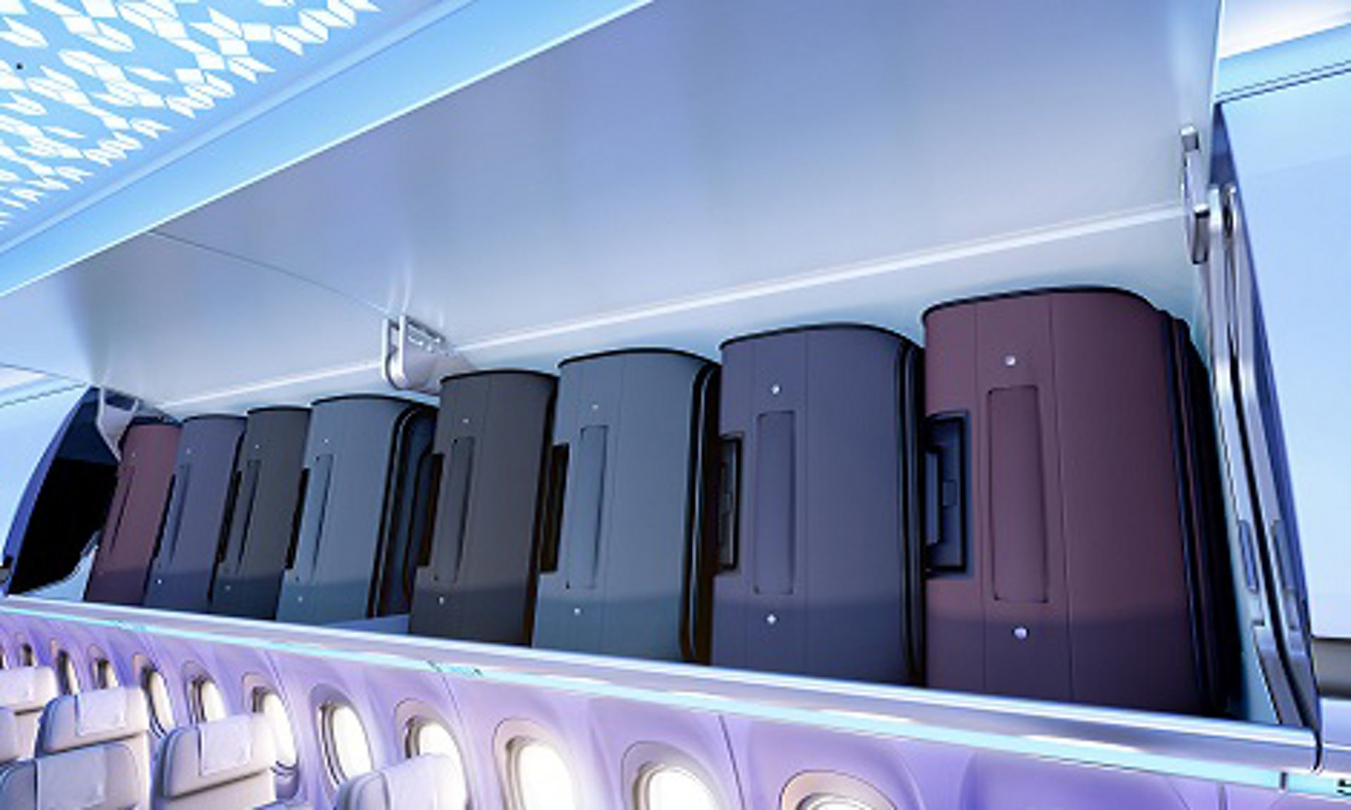 Equip your A320 fleet with Airspace XL bins the biggest bin in its class allowing up to 60% more roller bags.