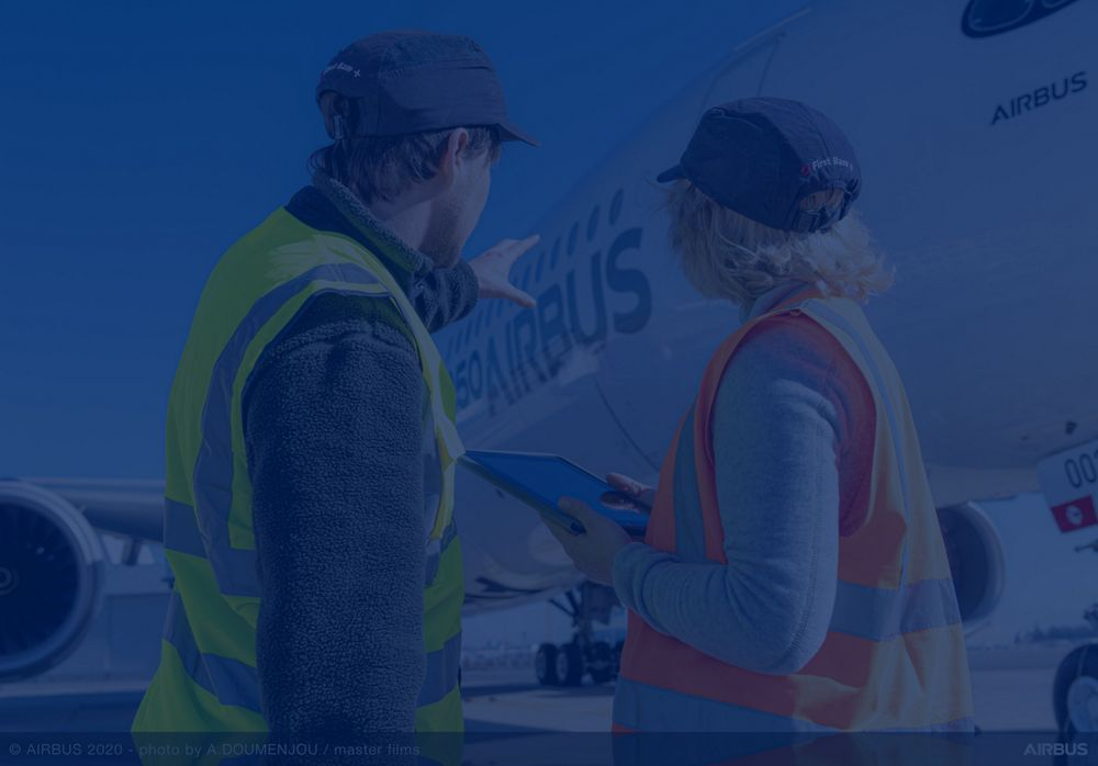 Airbus Services is continuously supporting Customers to prepare aircraft towards new horizons.