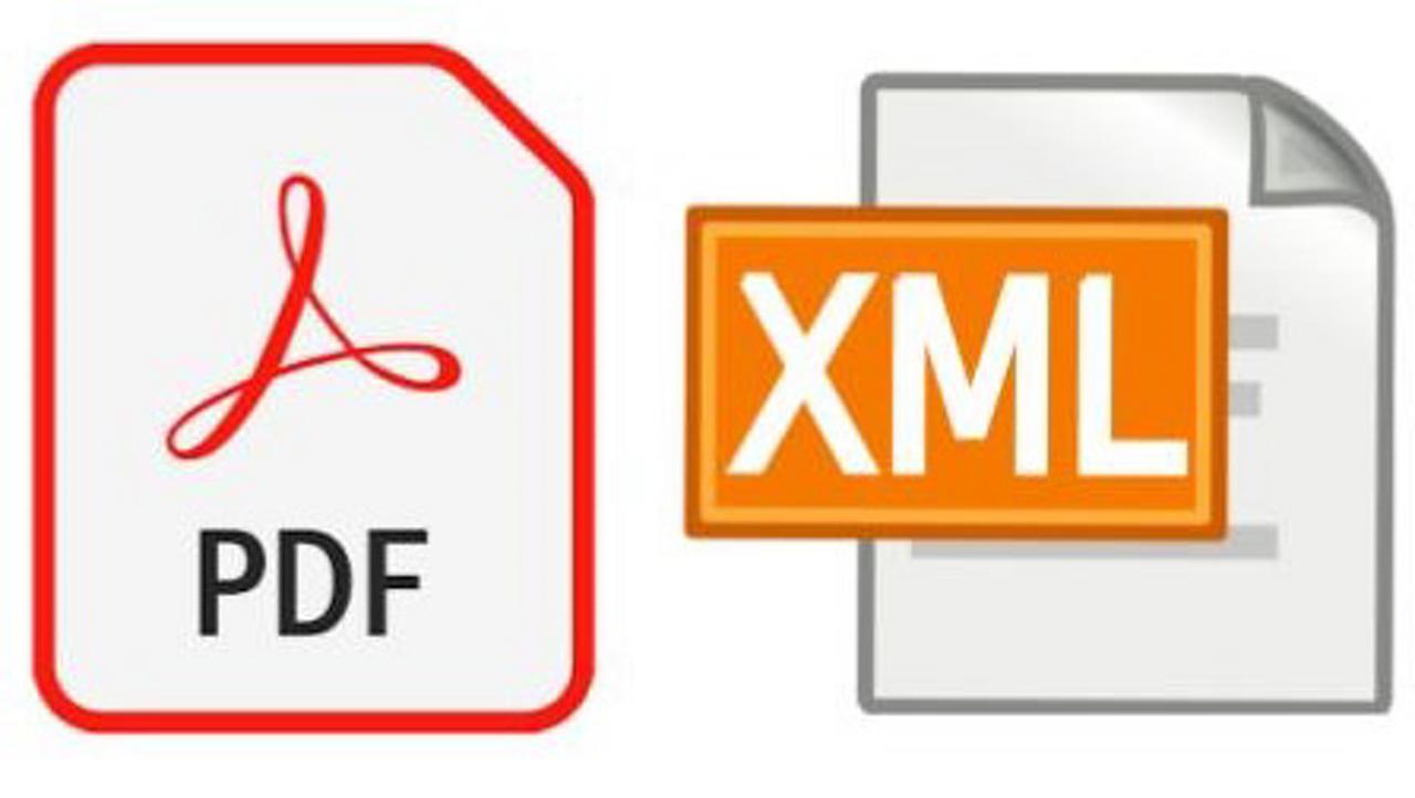 6 Pdf Xml Logos