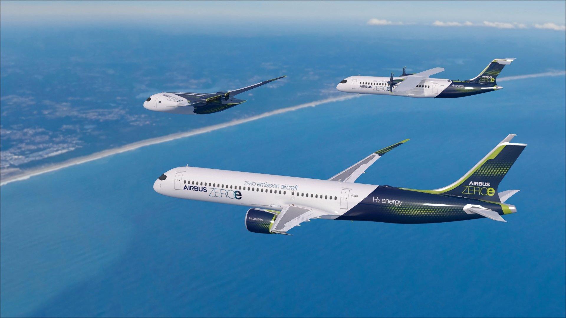 Airbus Zero Emission Patrol Flight