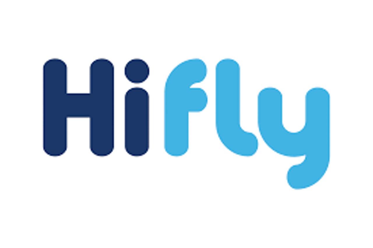 Hifly Logo Fast