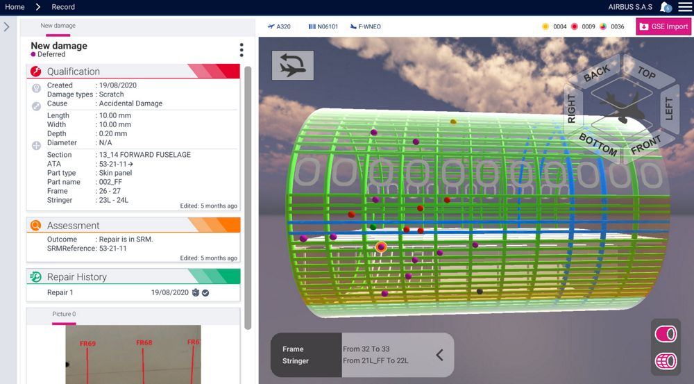 """Airbus offers more flexibility in the use of eTech 3DRepair Digital Solution with a new """"Pay-as-you-go"""" approach"""