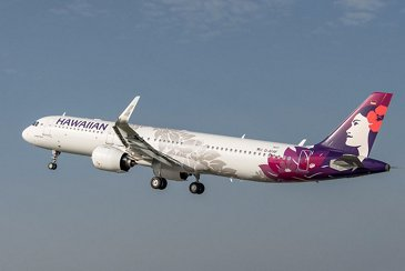 A321neo Hawaiian Airlines MSN7917   Take Off