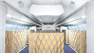 "Airbus Lufthansa ""Temporary Cargo Cabin"" solutions"