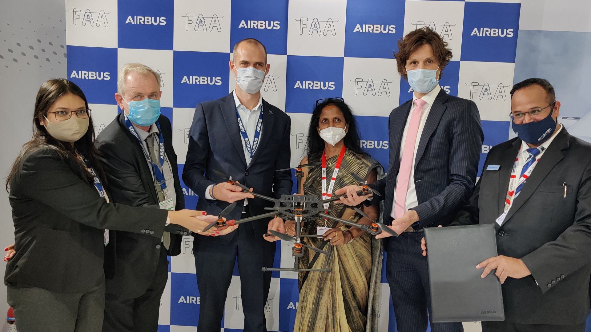Airbus signed a Memorandum of Understanding (MoU) with Flytech Aviation Academy, a leading Indian aviation training academy, to explore collaboration opportunities in Remotely Piloted Aircraft System (RPAS) training.