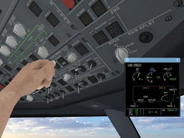 MATe Systems A320 3 Cab Press Avatar