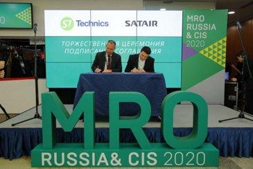 Satair, S7 Technics RUSSIA CIS
