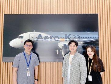 Aero K Navblue EIS deal signature