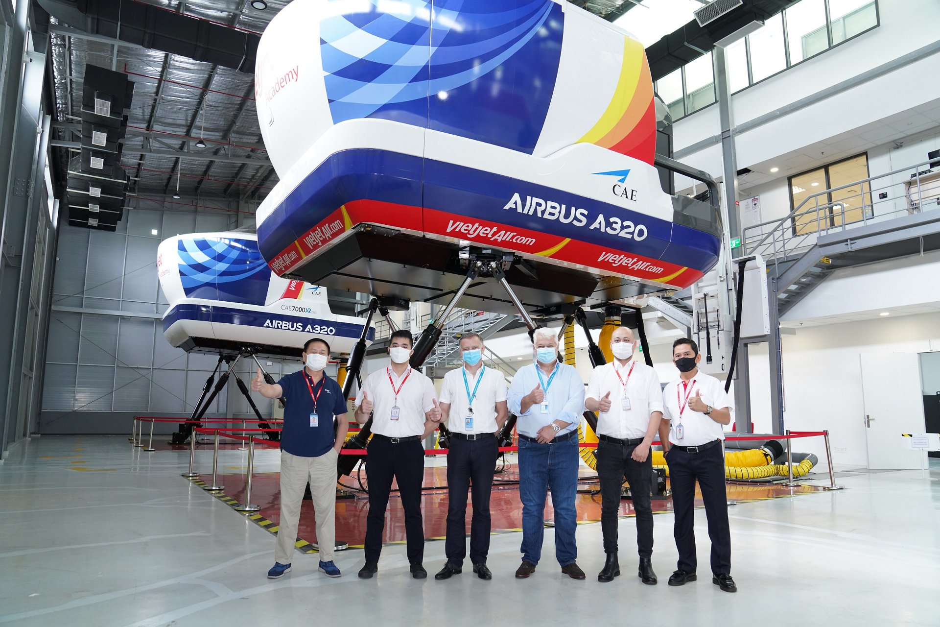 AVTC owns two A320 Full Flight Simulators and two A320 Flight Training Devices, which are located at the Vietjet Aviation Academy (VJAA) in Ho Chi Minh City and are operated by Airbus and Vietjet.