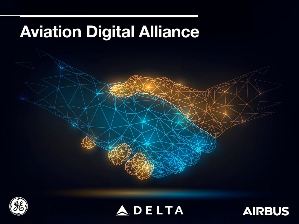 Airbus and Delta TechOps welcome GE Digital into the aviation Digital Alliance