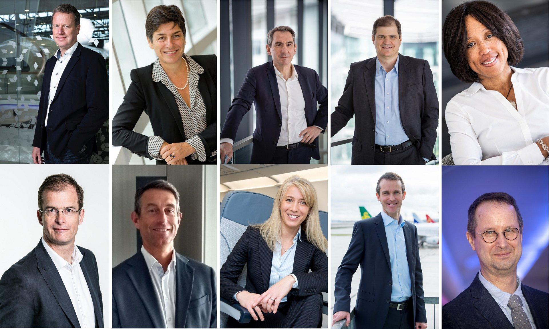 Airbus Customer Services Executive Team