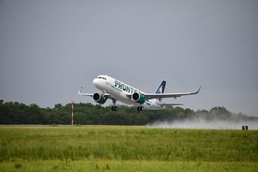 Frontier100thaircraftdelivery