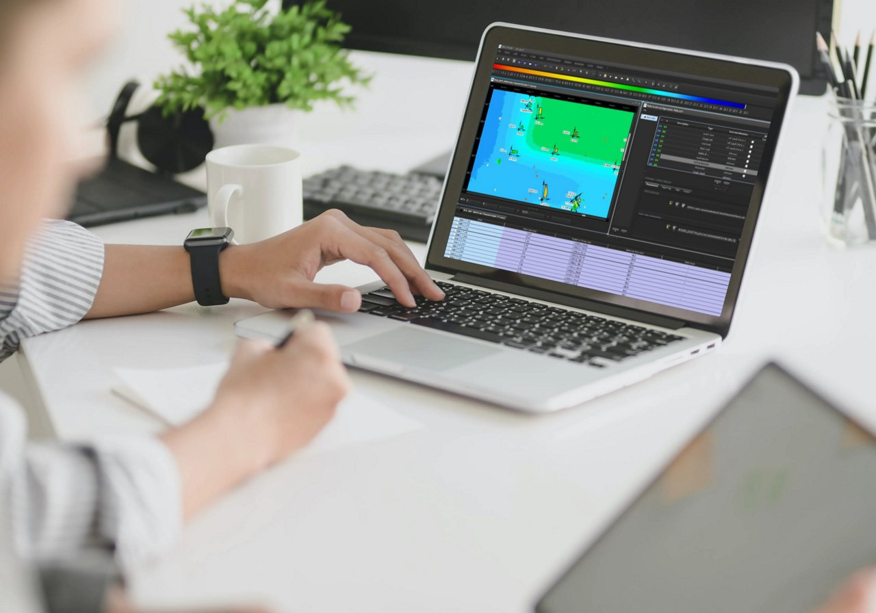 NDTkit UT can work as a common diagnosis tool and help users on the challenging task of using acquisition data coming from many devices, be it portable or fixed; the software simply needs to read the external file to start the analysis.