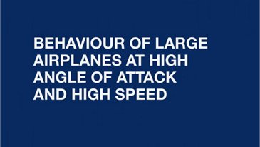Angle Of Attack At High Speed