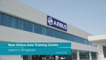 The New Airbus Asia Training Centre Opens In Singapore