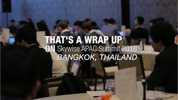 That's a wrap on Skywise APAC Summit 2018