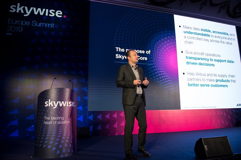 François Favre, Airbus, Skywise Europe Summit