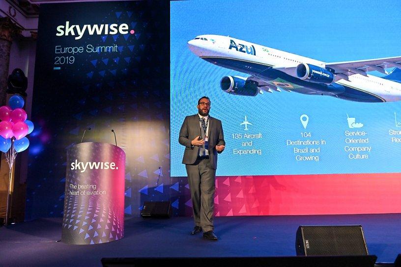 Rodrigo Elias, Azul Linhas Aéreas Brasileiras, Skywise Europe Summit