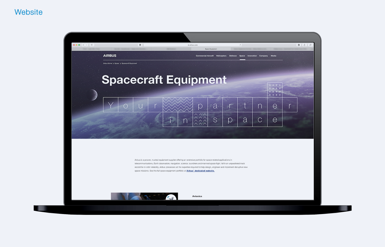19114 AB SpacecraftEquipment Applications Website