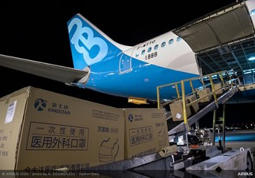 A330neo Airbus Flight From Tianjin to Toulouse