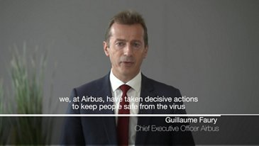 Airbus COVID19 Adaptation Plan - video statement