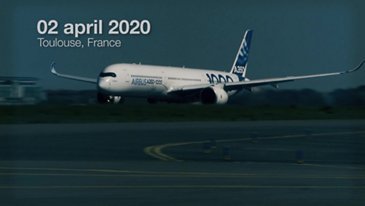 Airbus' A350-1000 supports the fight against COVID-19