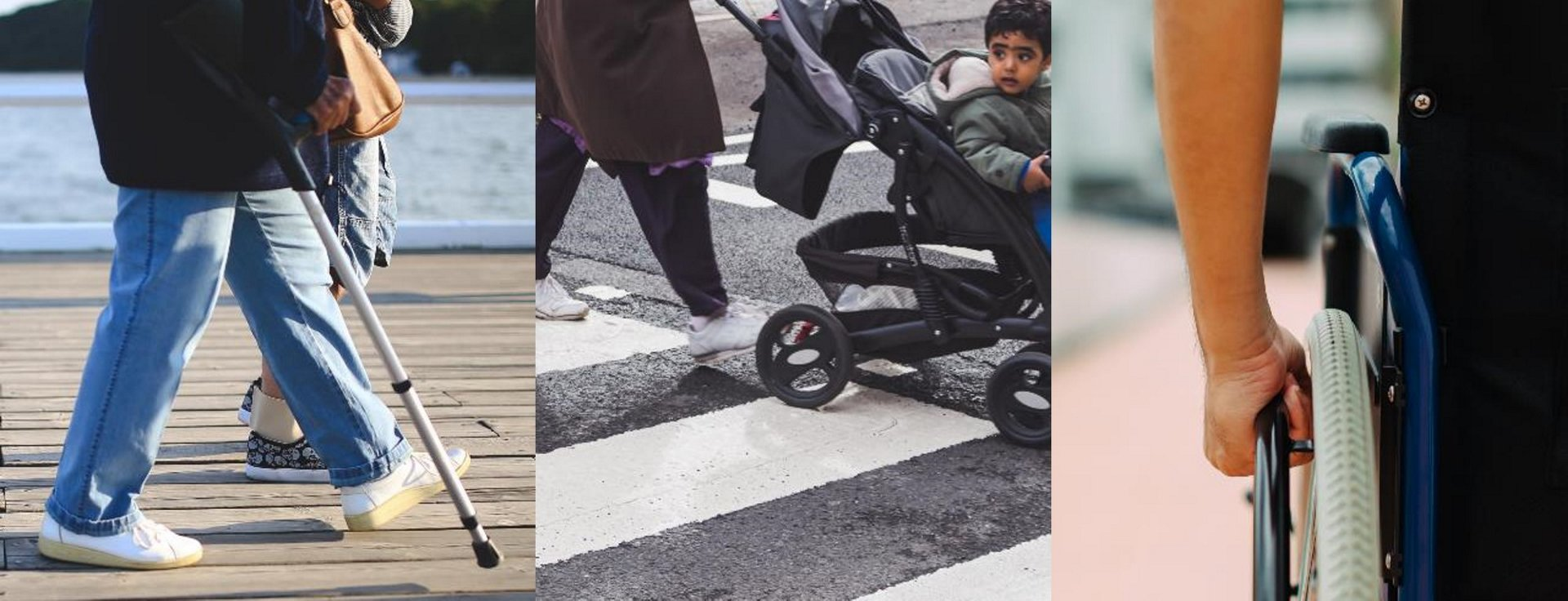 """""""At any one time 40% of us experience some restriction in our mobility – be it through injury, as a wheelchair user or simply a parent with a pushchair,"""" says Adrien Muller from DYbyDX."""