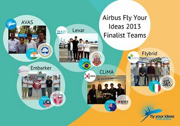 5 Airbus FYI finalists