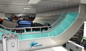 Airbus FYI 2013 Brazil Team Levar - Luggage loading