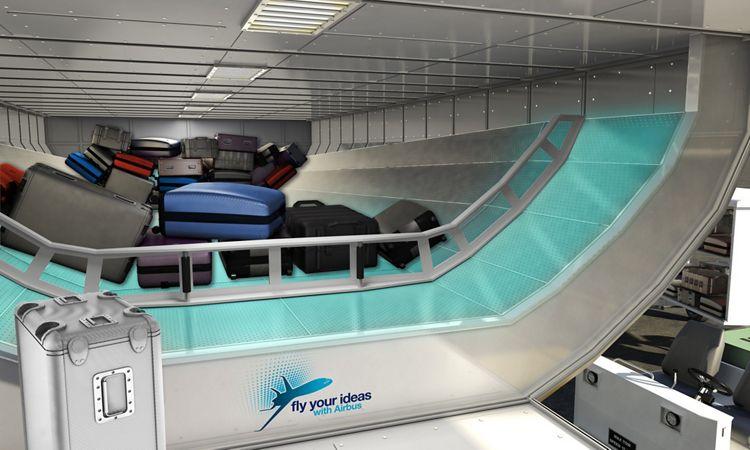 Airbus FYI 2013 Brazil Team Levar - Luggage loading