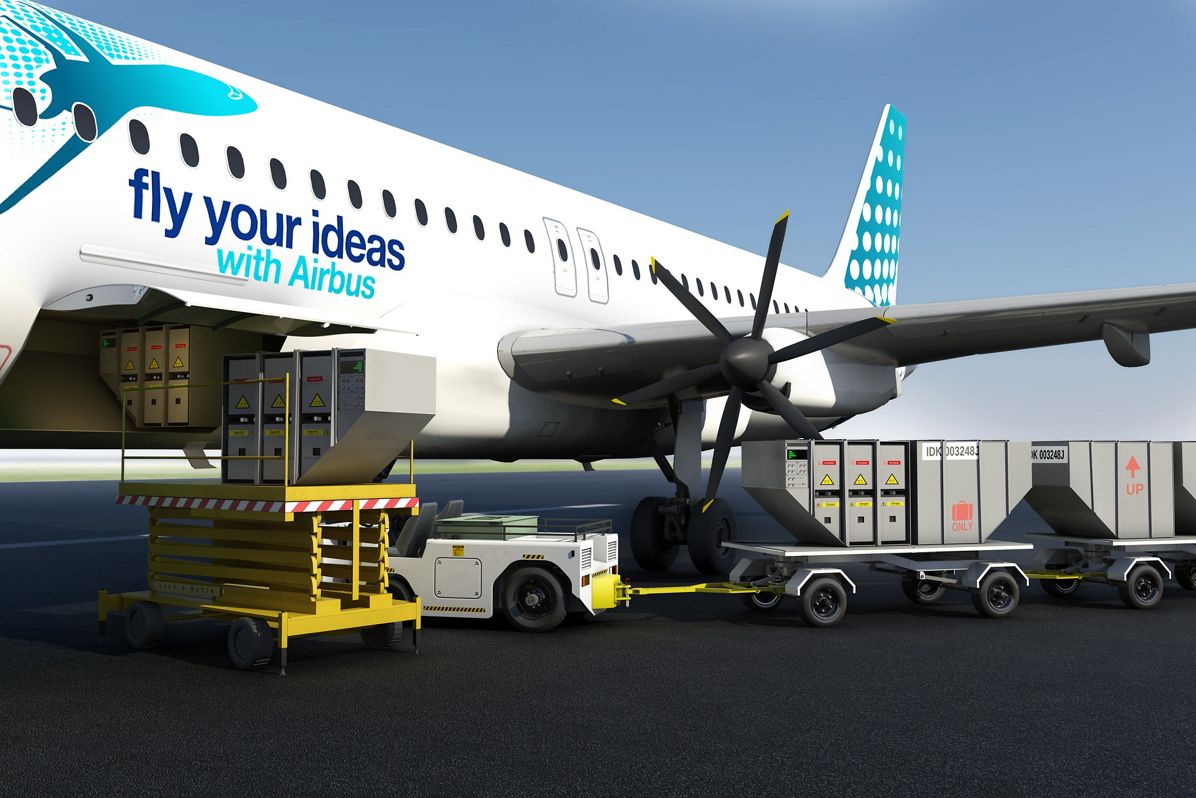 Airbus FYI 2013 Italy - Team Flybrid - battery Hybrid Engine