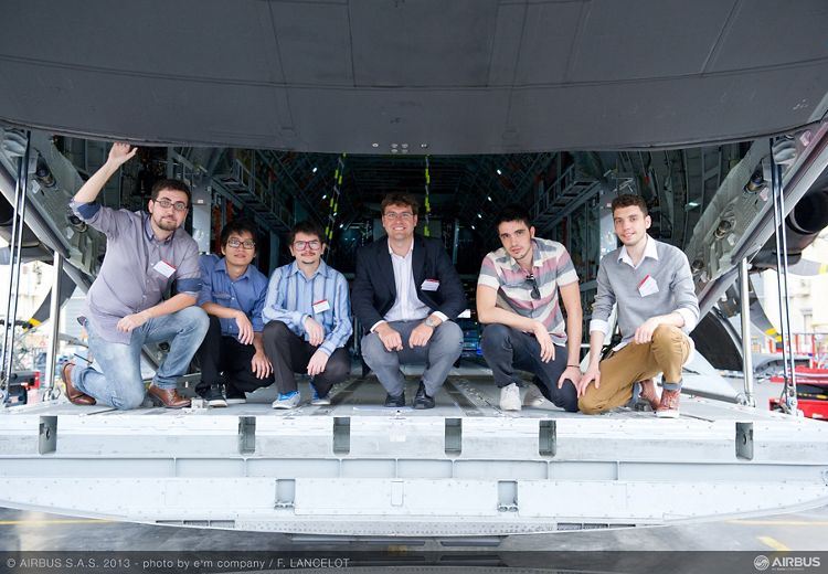 Airbus FYI 2013 winning team