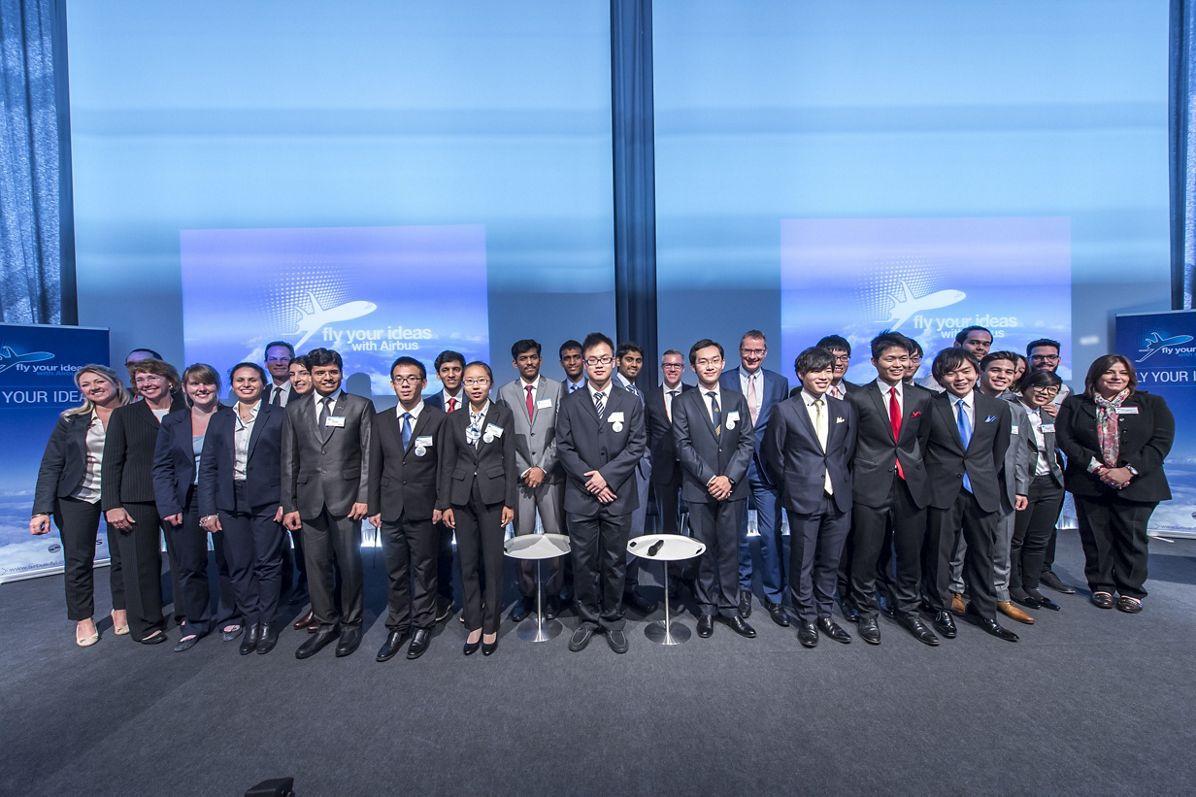 Airbus FYI 2015 event